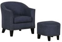 Denim Vintage Accent Chair & Ottoman from Pulaski ...
