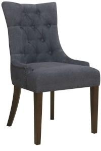 Darkwash Denim Dining Chair, DS-2514-900-343, Pulaski