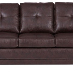 299 Sofa Leather Bed Costco Chocolate Brown Ds A192 680 Pulaski