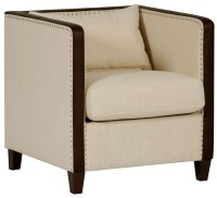 Beige Leisure Accent Chair, DS-A195-900-378, Pulaski