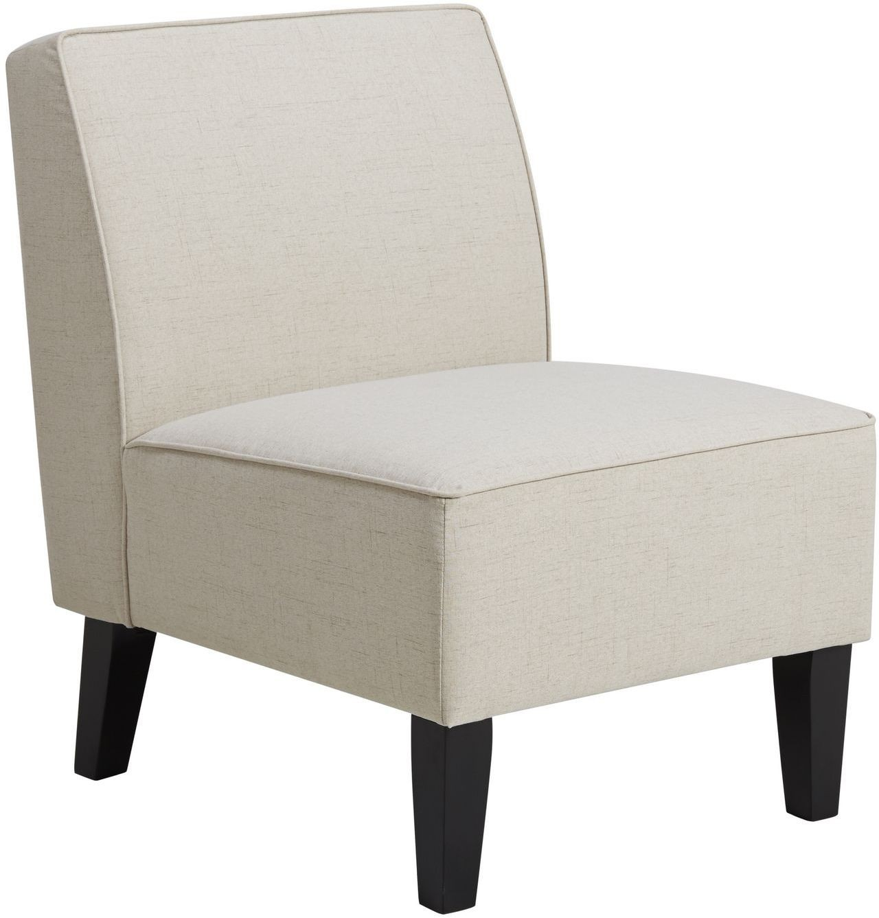 bonnie cream slipper chair swivel it upholstered armless from pulaski