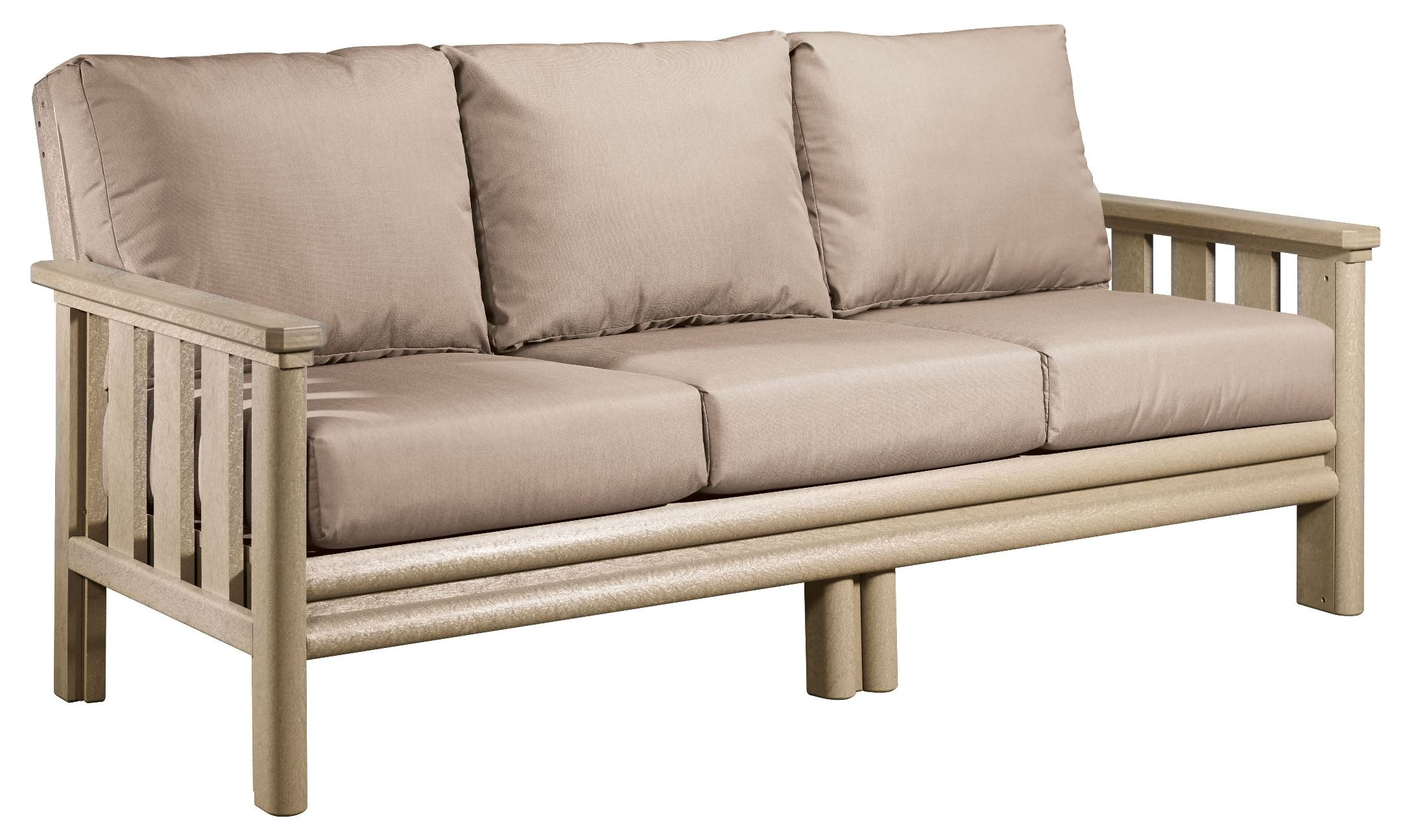 sunbrella sofa cushions cheap circle sofas stratford beige with from cr