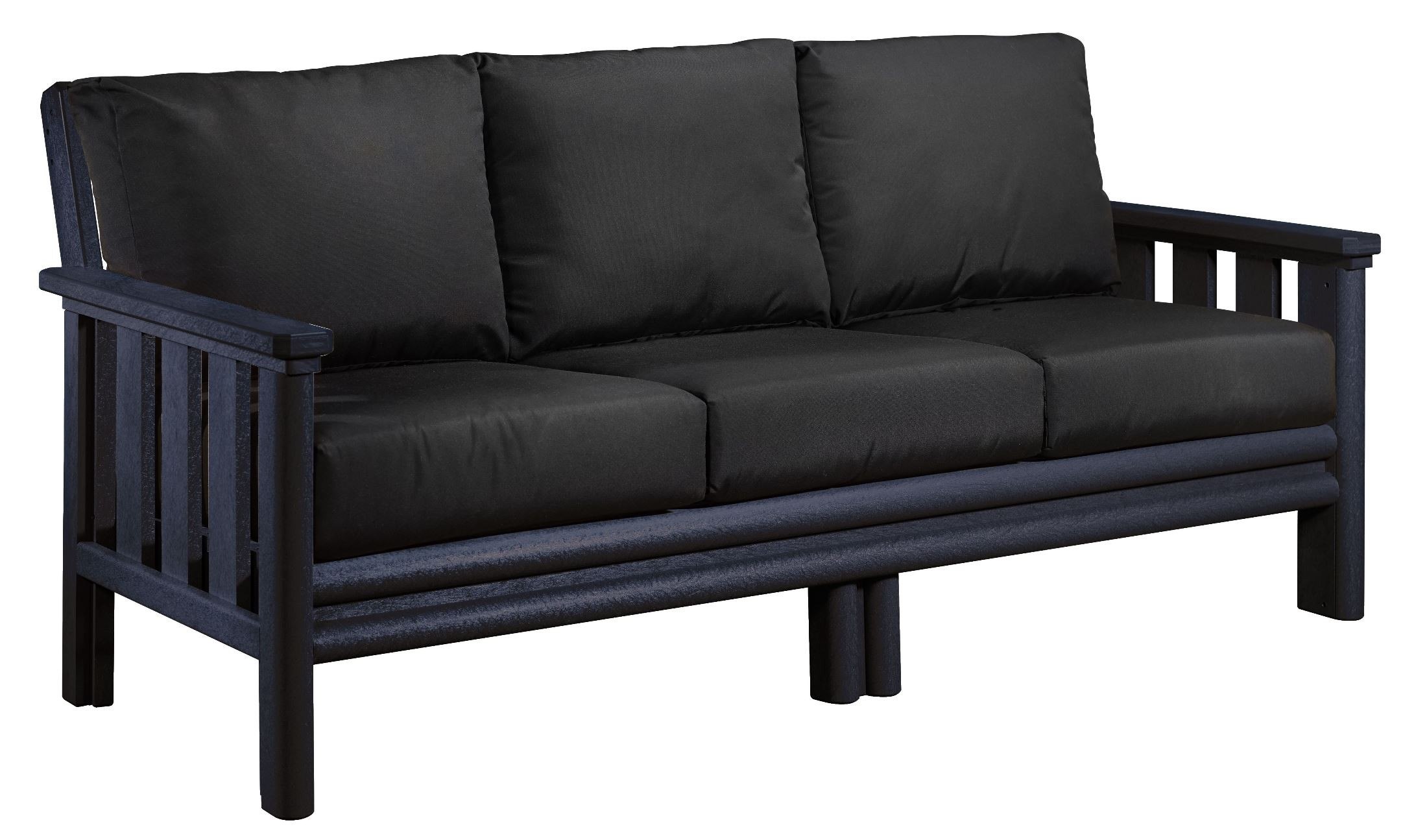 sunbrella sofa cushions turner sofas molteni c stratford black with from cr