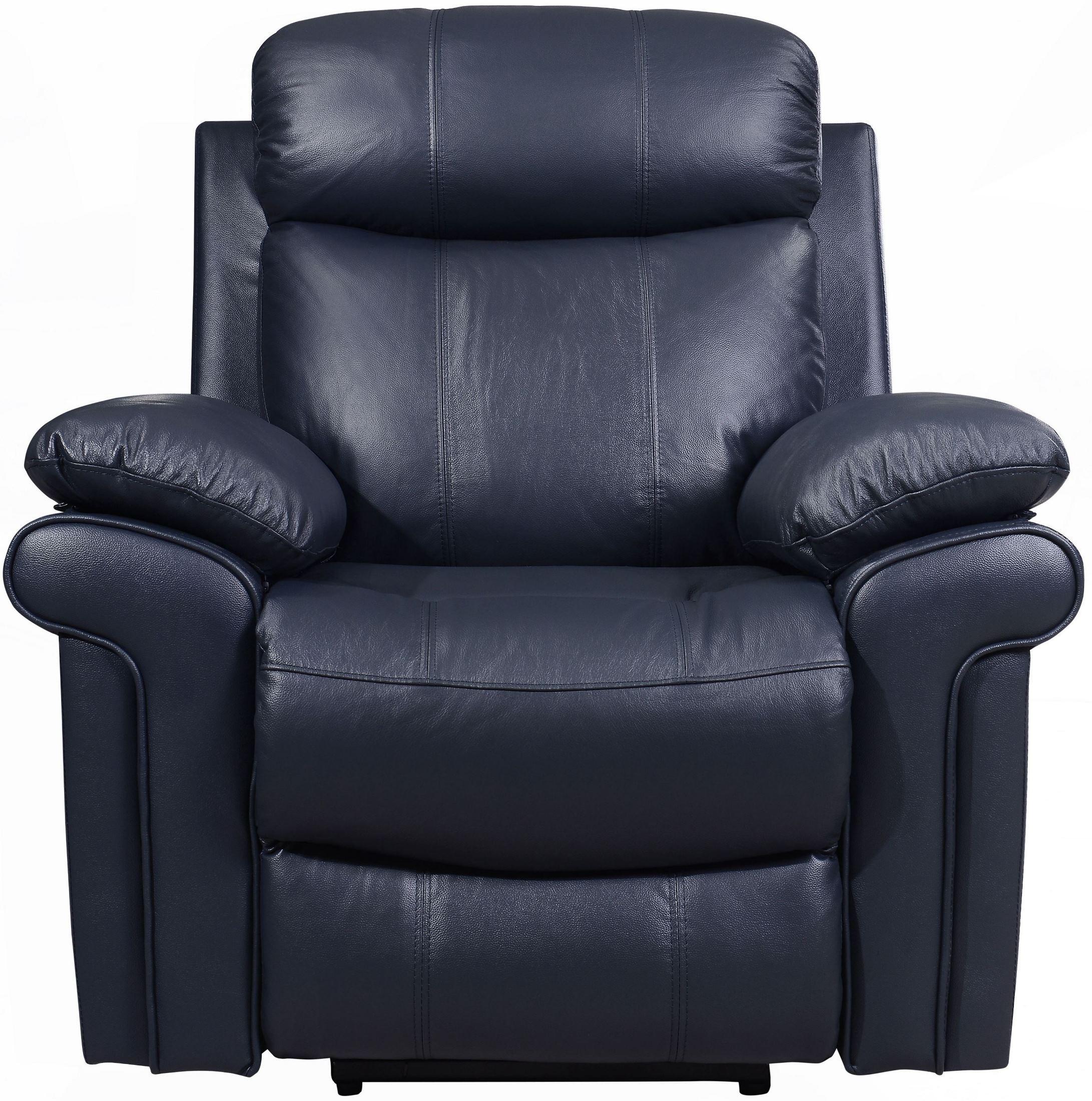 discount leather sofa john sofarelli shae joplin blue power reclining living room set ...