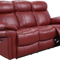 Red Leather Sofa Sets On Sale Used Restoration Hardware Shae Joplin Power Reclining From