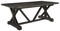 Anvil Black Wood Dining Table from Renegade (EEI-1198 ...
