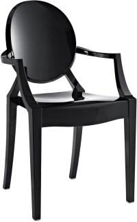 Casper Arm Chair in Black from Renegade (EEI-121 ...