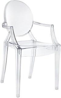 Casper Arm Chair in Clear from Renegade (EEI-121 ...