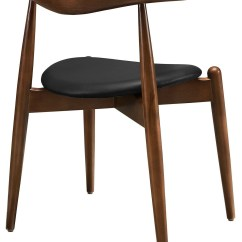 Dark Walnut Dining Chairs Chair Cover Hire Melton Mowbray Stalwart Black And Table Set Of