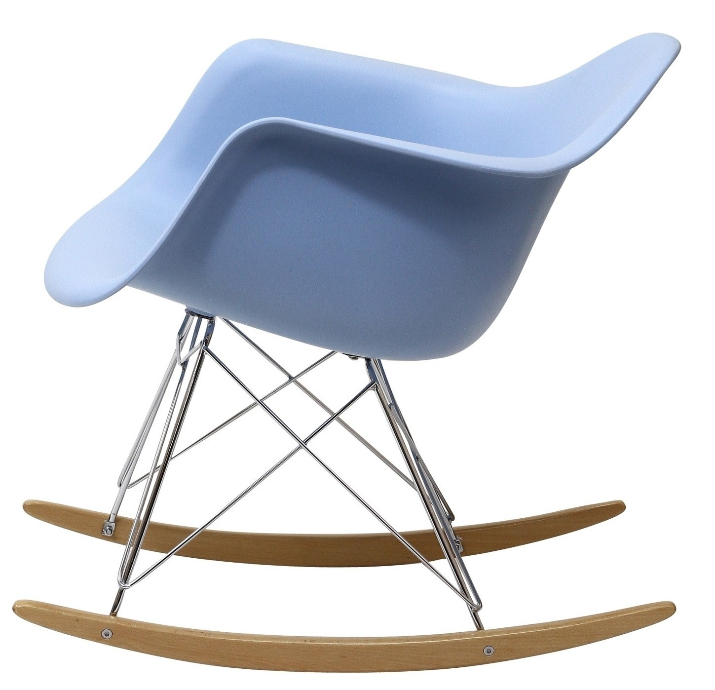 coleman rocking chair lafuma lacing cords plastic molded in blue from renegade eei