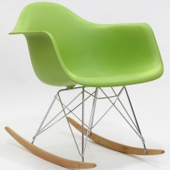 Plastic Rocking Chair Where To Buy Covers In Dubai Molded Green From Renegade Eei