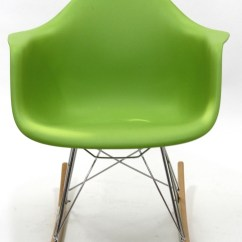 Coleman Rocking Chair Nfl Folding Chairs Plastic Molded In Green From Renegade Eei