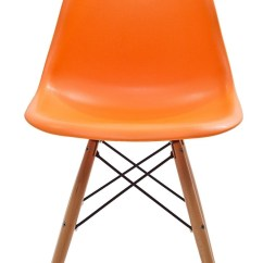 Orange Side Chair Stool For Kitchen Counter Wood Pyramid In From Renegade Eei 180