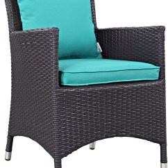 Turquoise Patio Chairs Swivel Chair Integration Convene Espresso Dining Outdoor Armchair