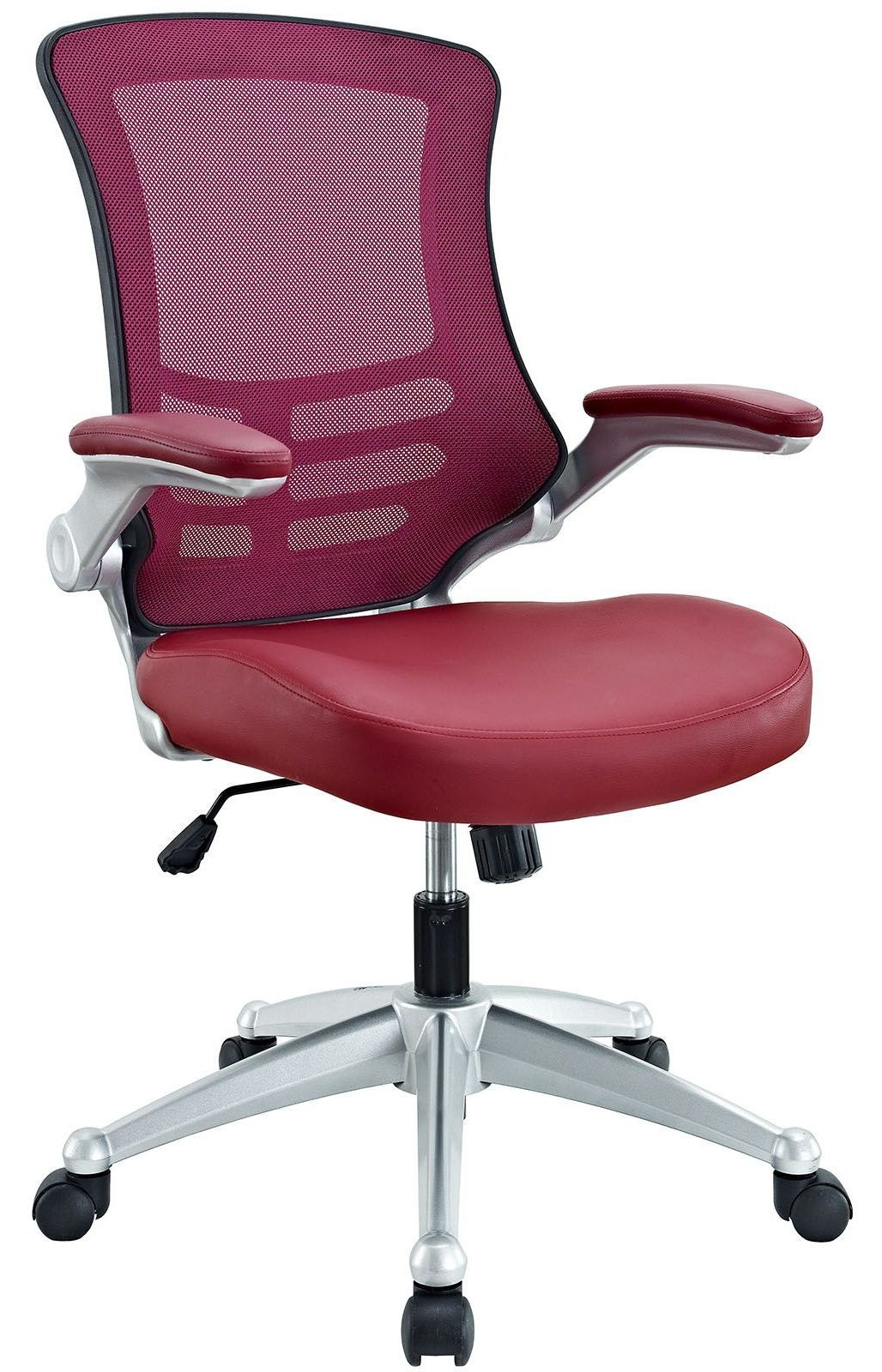Burgundy Office Chair Attainment Burgundy Office Chair From Renegade Eei 210