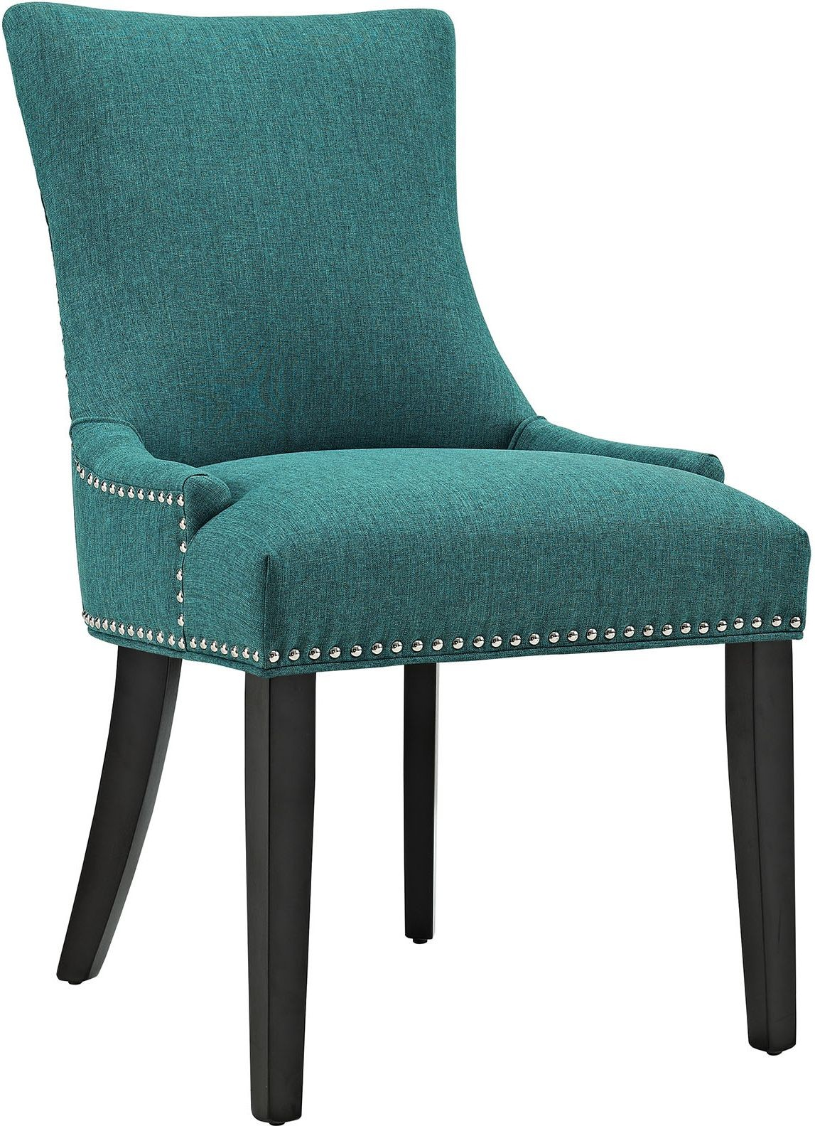 Teal Chair Marquis Teal Upholstered Dining Chair Eei 2229 Tea