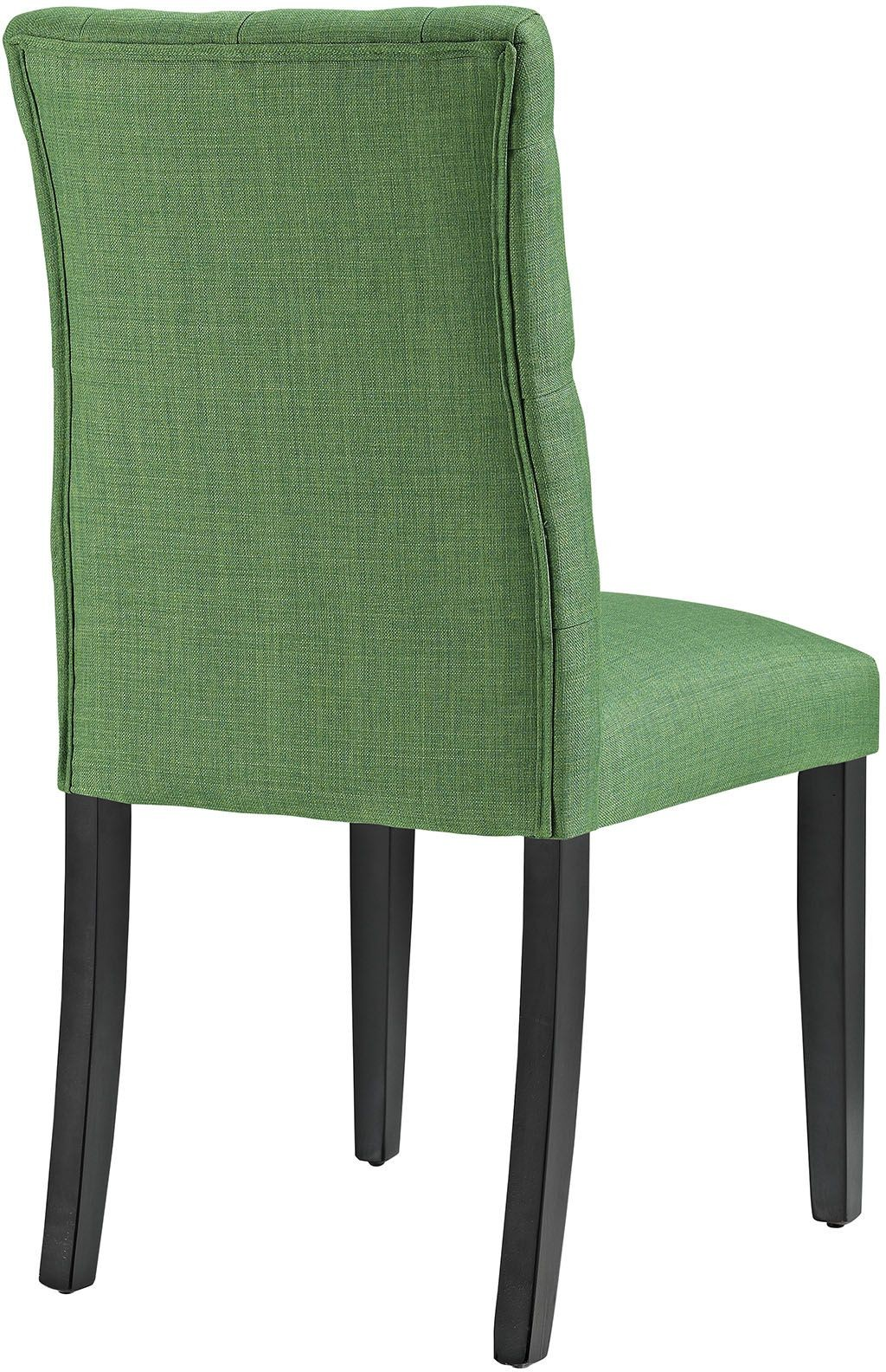green upholstered dining chairs child adirondack chair plastic duchess eei 2231 grn