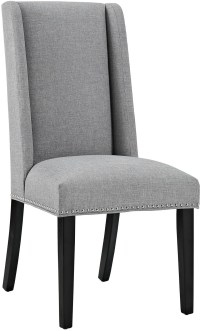Baron Light Gray Upholstered Dining Chair from Renegade ...