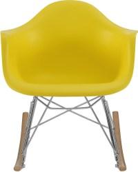 Rocker Yellow Kids Chair, EEI-2300-YLW, Renegade Furniture