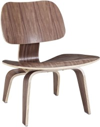 Plywood Lounge Wood Chair in Walnut from Renegade (EEI-510 ...