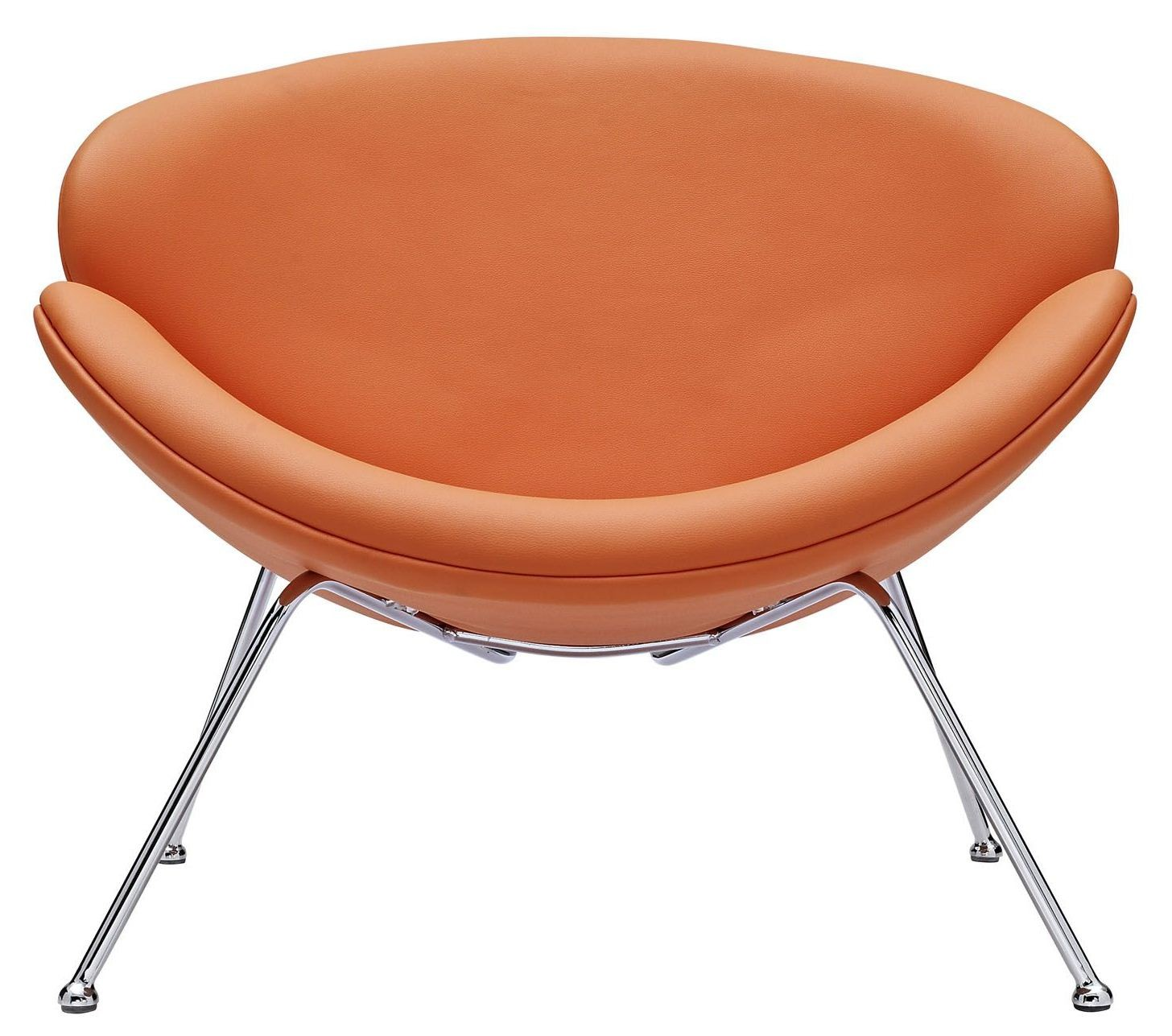 Nutshell Orange Lounge Chair from Renegade EEI809