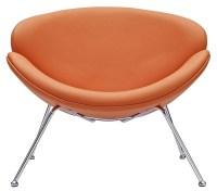 Nutshell Orange Lounge Chair from Renegade (EEI-809 ...
