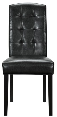 Perdure Black Dining Side Chair from Renegade (EEI-811 ...