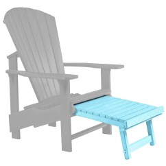 Aqua Adirondack Chairs White Arm Generations Upright Chair Pull Out