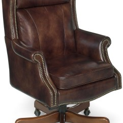 Swivel Chair Brown Gym Owner's Manual Merlin Leather Executive Tilt From