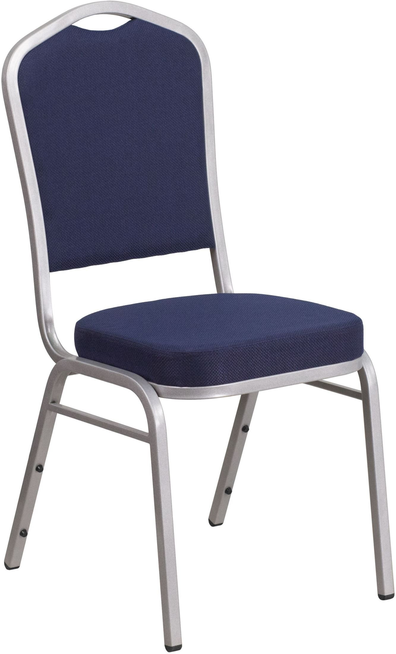 Hercules Stacking Chairs Hercules Series Crown Back Navy Fabric Stacking Banquet