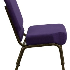 Stackable Church Chairs Folding Walmart Hercules Series Extra Wide Royal Purple Stacking