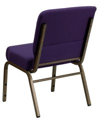 Hercules Series Extra Wide Royal Purple Stacking Church