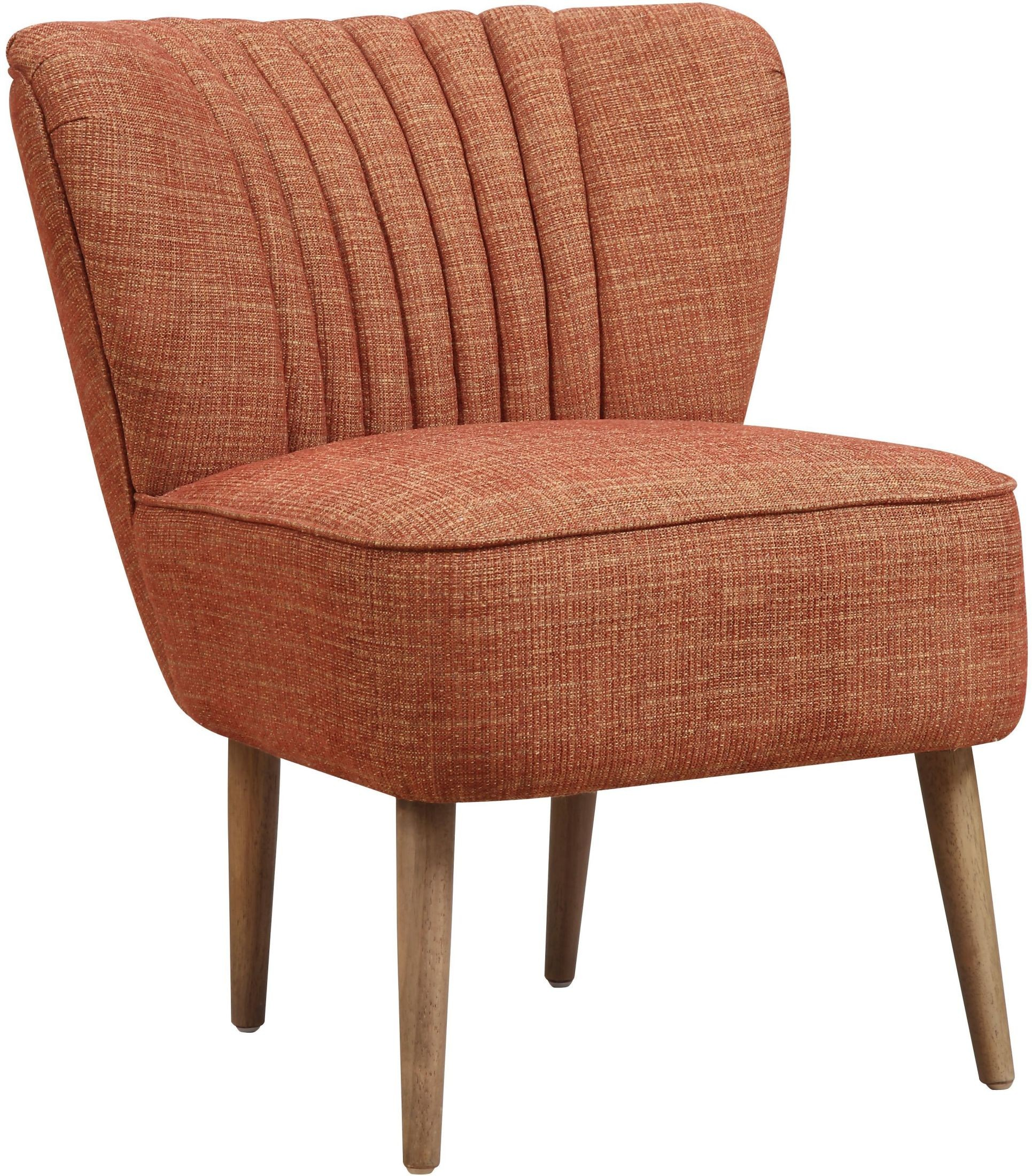 mid century accent chair phil and ted lobster recall kenrdrick ember vertically channeled