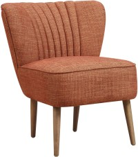 Mid Century Kenrdrick Ember Vertically Channeled Accent ...