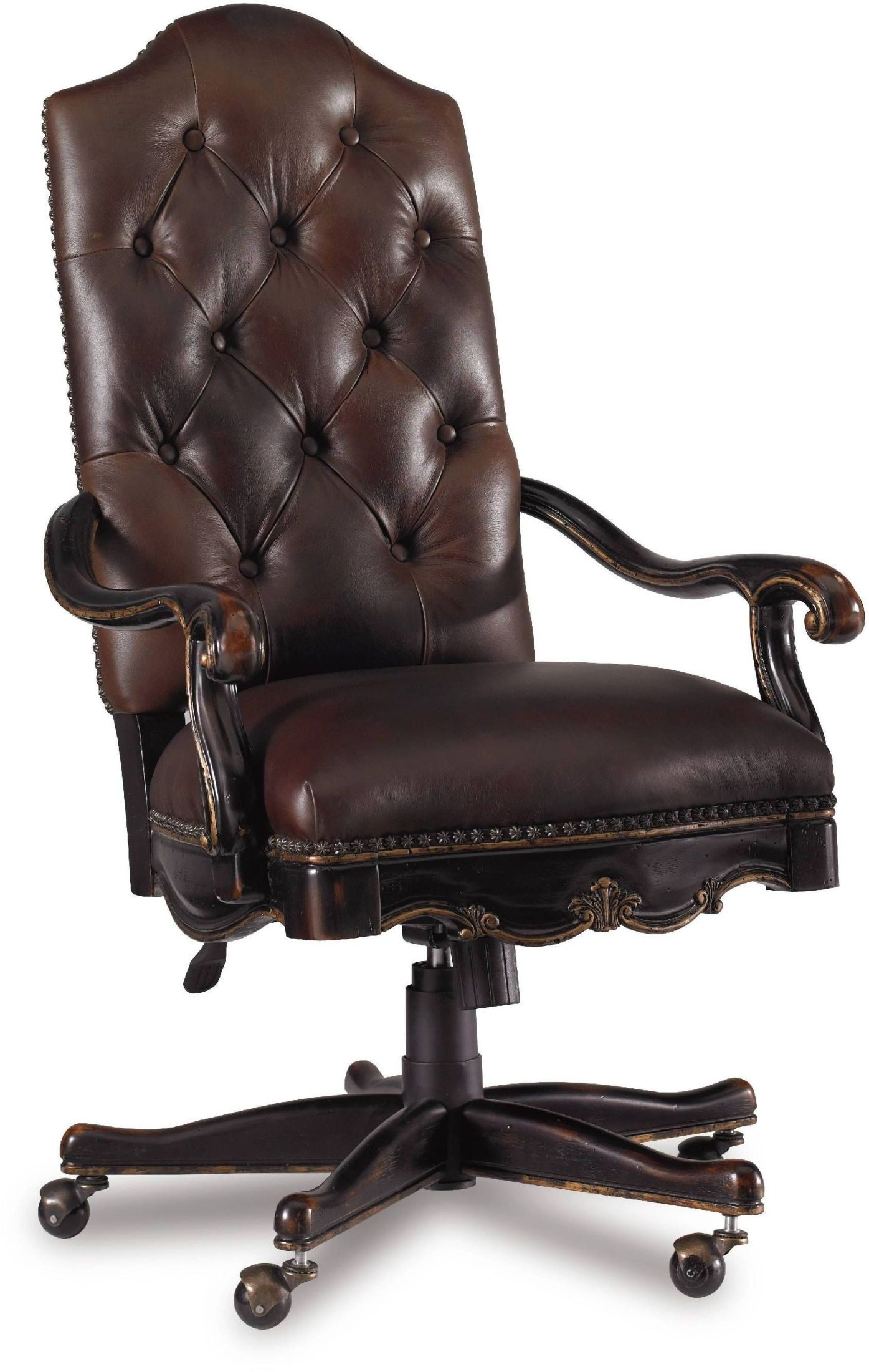 Black Swivel Chair Grandover Black Tilt Swivel Chair 5029 30220 Hooker