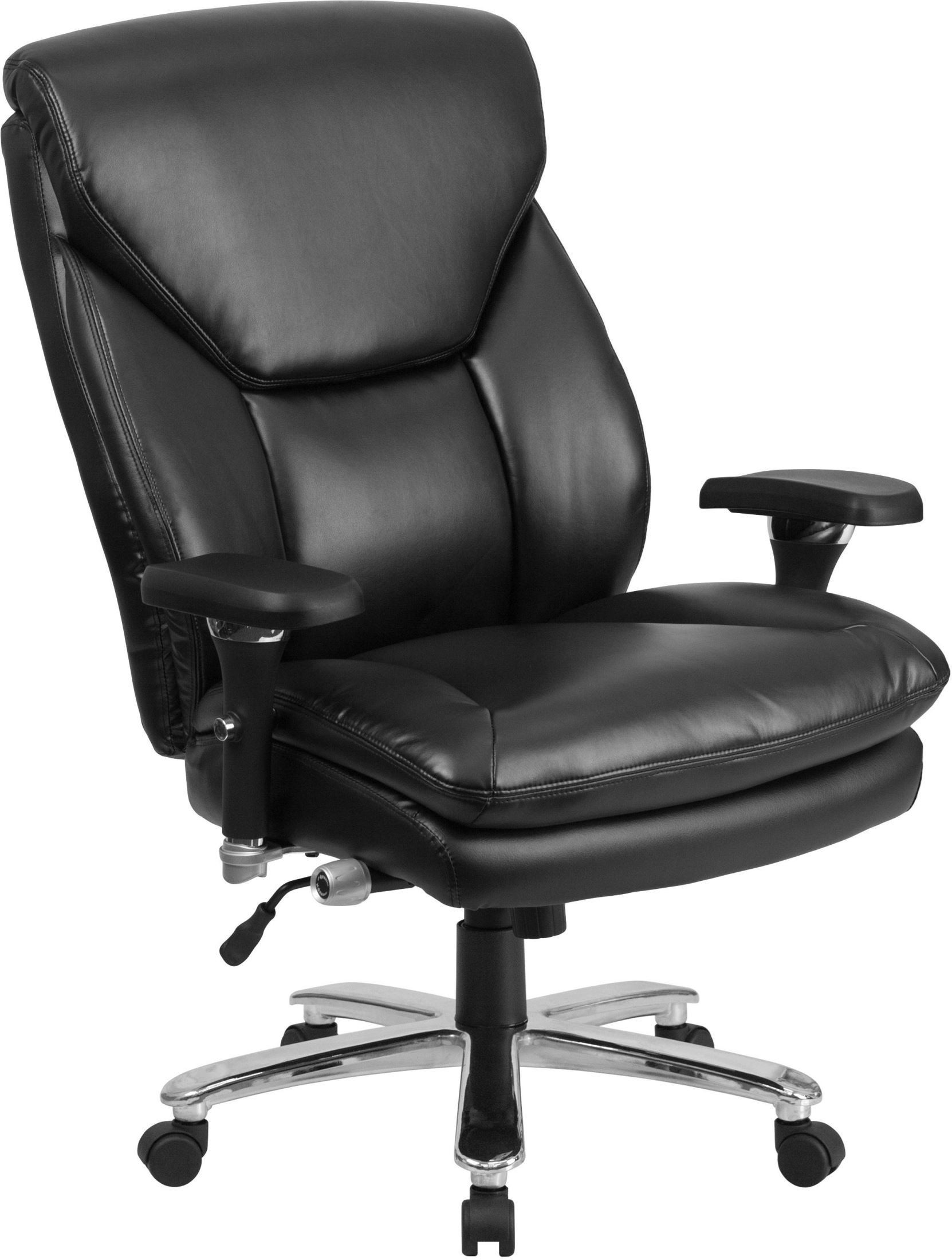 tall swivel chair zero gravity lawn chairs canada hercules 24 7 big and black executive from