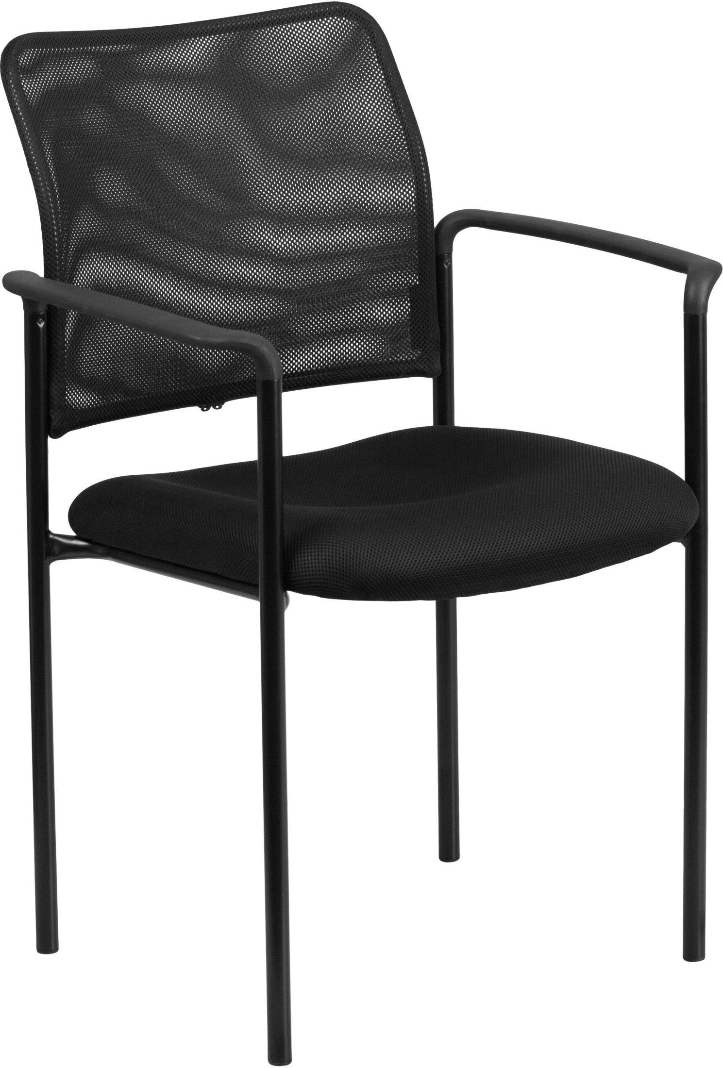 stackable chairs with arms ergonomic chair ultrasound black comfortable steel arm go 516 2 gg