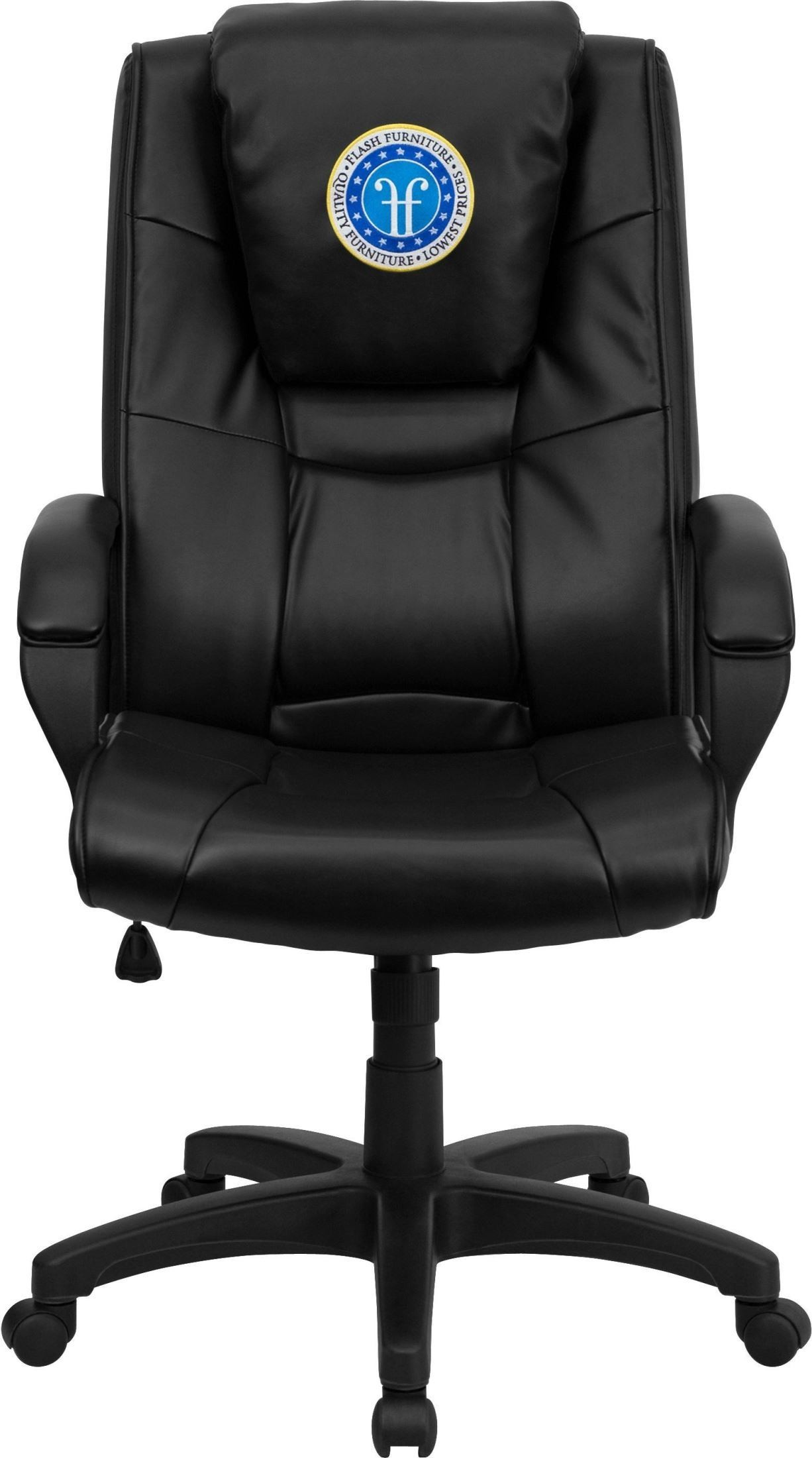 coleman lumbar quattro chair outdoor canvas covers nz 31117 high back design black executive swivel office