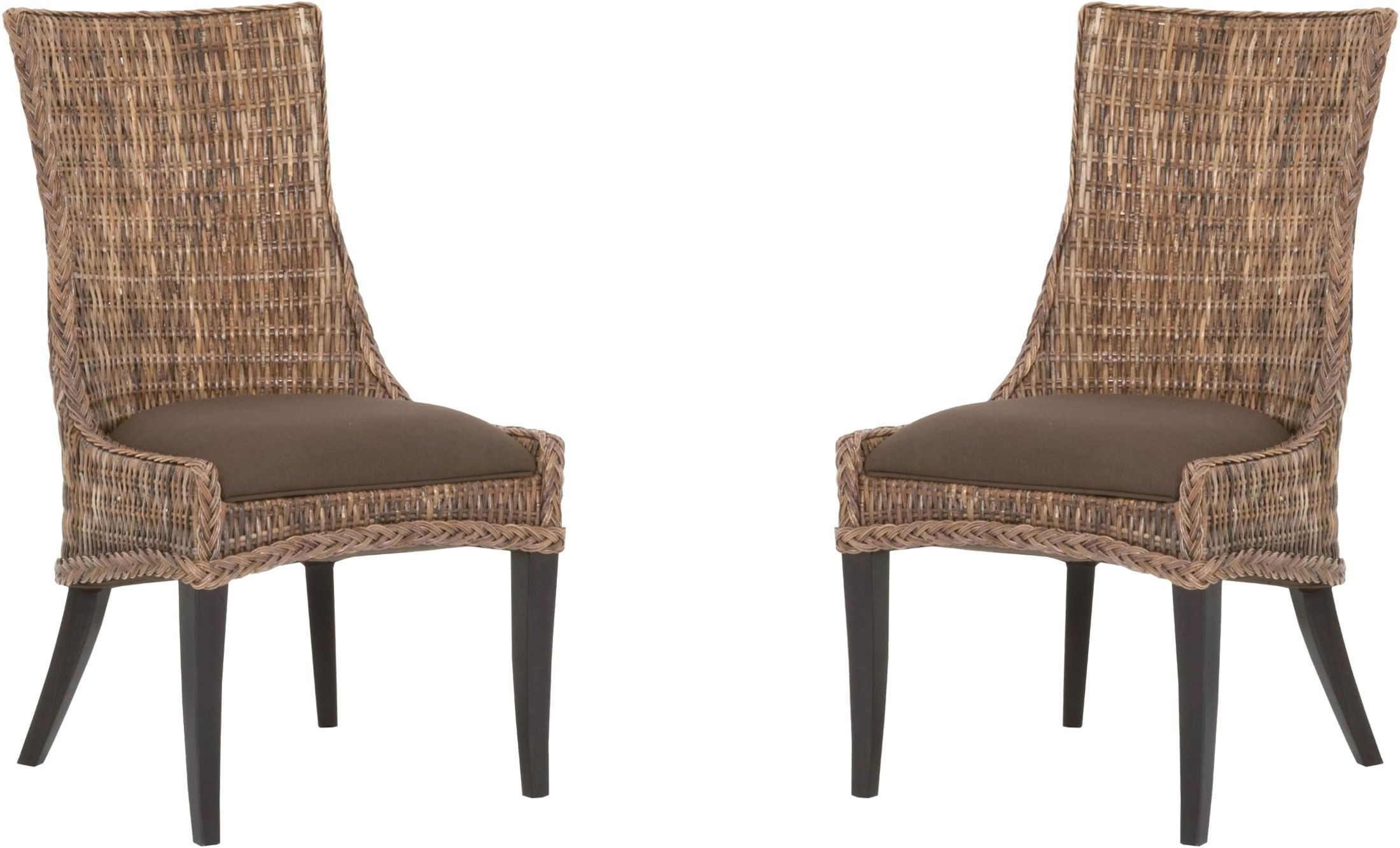 espresso dining chair bliss covers and unique wedding decorations greco brown set of 2 from orient