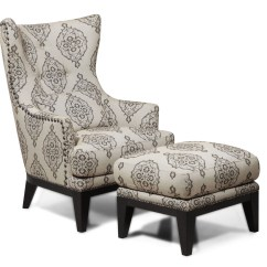 Accent Chairs With Ottoman Where To Buy Chair Covers In Montreal Charleston Antique Espresso And From