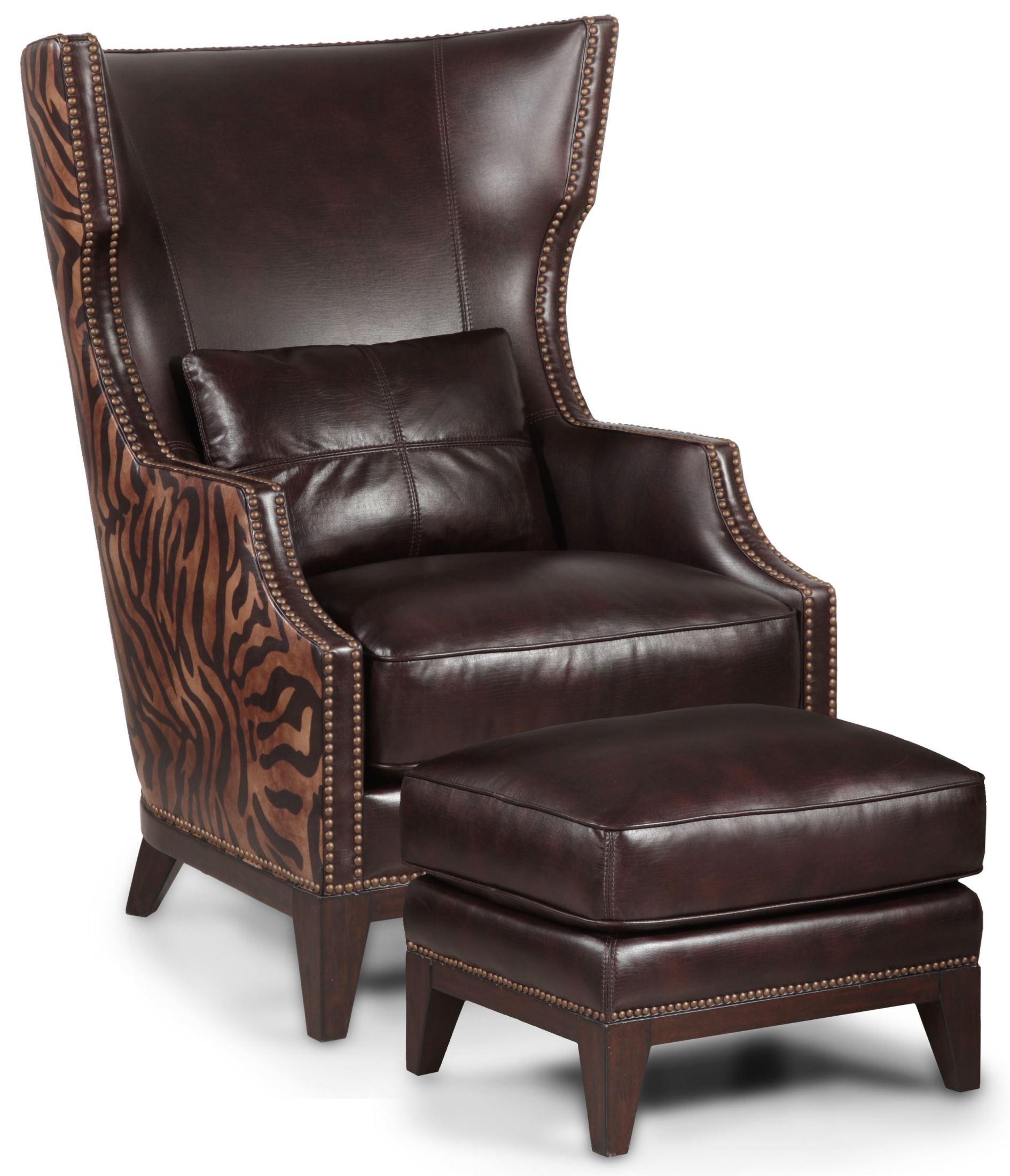 zebra print office chair dimensions cm forbes black accent & ottoman from simon li (h056-2a-n7-e164) | coleman furniture