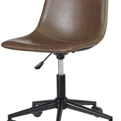 Swivel Chair For Home Office Chairs Ergonomic Mesh Adjustable Brown Desk From Ashley