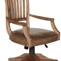 Upholstered Computer Chair Billiard Spectator Chairs Adler Desk With Seat And Wood Back From