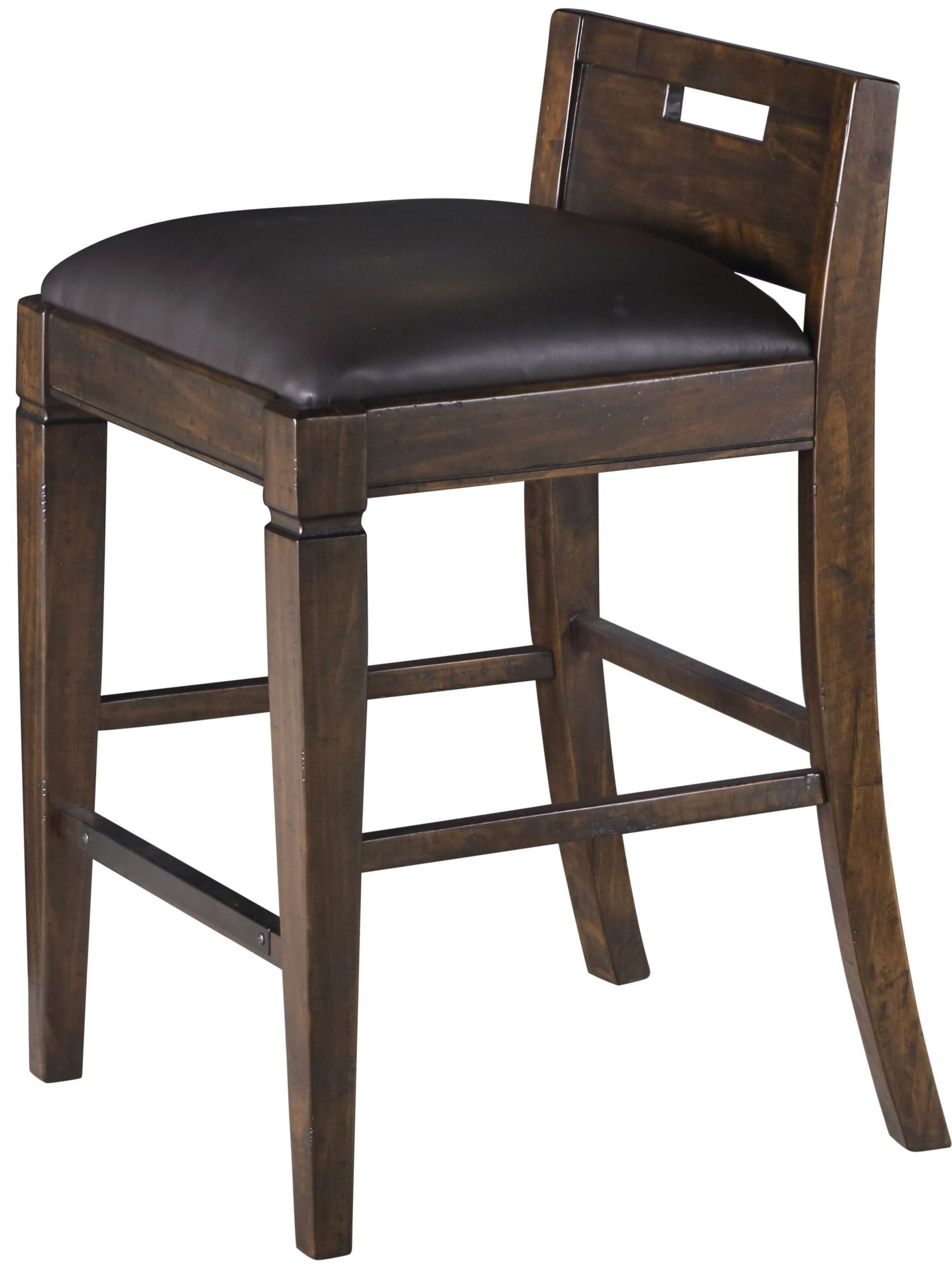 Counter Height Office Chair Pine Hill Rustic Pine Upholstered Counter Height Chair