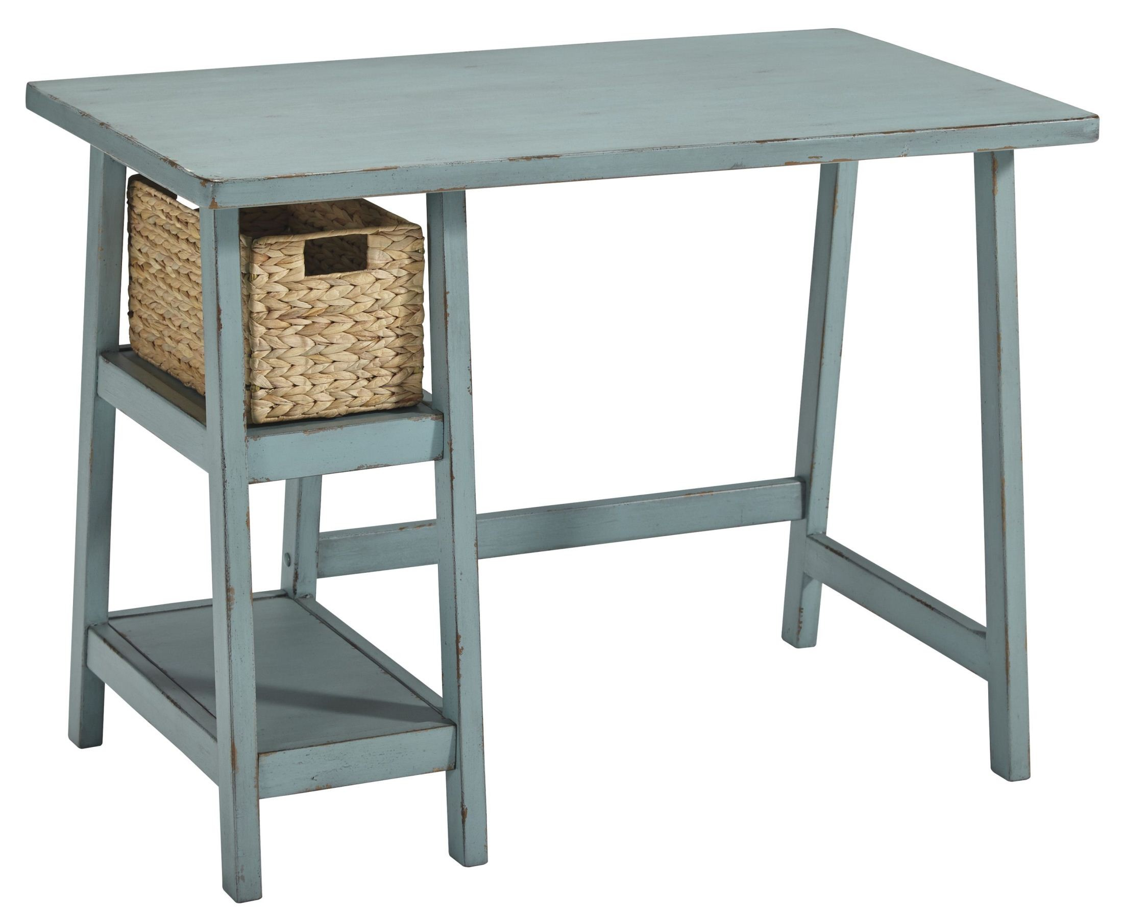 Mirimyn Teal Home Office Small Desk from Ashley  Coleman