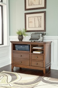 Burkesville Home Office Cabinet from Ashley (H565-40 ...