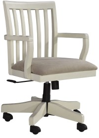 Sarvanny Cream Home Office Desk Chair from Ashley (H583 ...