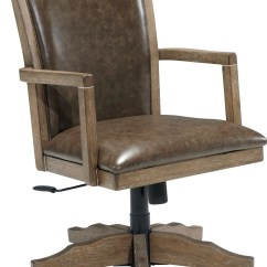 Swivel Chair For Home Office Covers Leather Tanshire Desk From Ashley H688