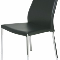 Black Leather Chair Dining Glider Covers Eric From Nuevo Coleman Furniture