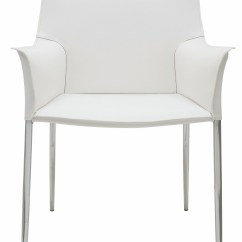 White Leather Chairs Dining Wood Folding Church Colter Arm Chair Hgar399 Nuevo